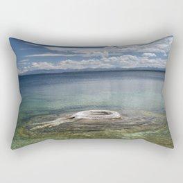 The Fishing Hole Rectangular Pillow