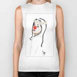 Rudolph Selfie - The Ghost of Christmas Present - The Christmas Spirit from A Christmas Carol Biker Tank