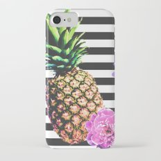 Pretty as Pineapple iPhone 7 Slim Case