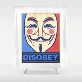 Vendetta - Disobey Shower Curtain