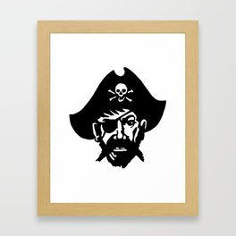 Captain Kidd II (The Rude Pirate) Framed Art Print