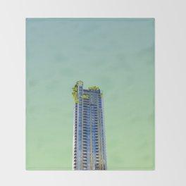 LND CLR X-13 London Colour Architecture Art Throw Blanket