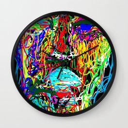 Portrait of Us Wall Clock