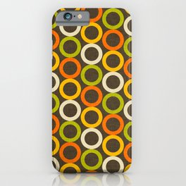 Earth Mod Abstract Hallow Brown iPhone Case