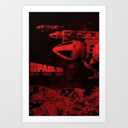 SPACE:1999 Art Print