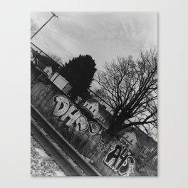 Vandalism 2 Canvas Print