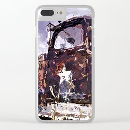 Army Truck Clear iPhone Case