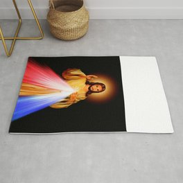 Jesus Divine Mercy I trust in you Religion Religious Catholic Christmas Gift Rug