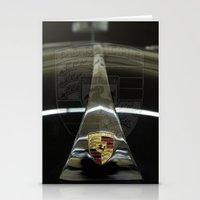 porsche Stationery Cards featuring Porsche 356 by Regina Hoer