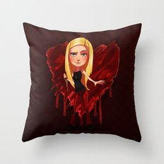Buffy the Heart Slayer Throw Pillow