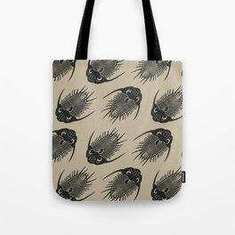 Trilobite Fossils Tote Bag