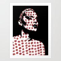 polka dots Art Prints featuring Polka Dots by Andreas Lie