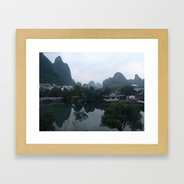 Yangshuo, China Framed Art Print