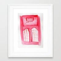 radio Framed Art Prints featuring Radio by radiantlee