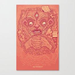 1000 Pots Canvas Print