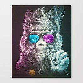Smoky Canvas Print