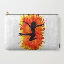 Watercolour Dancer Orange Carry-All Pouch