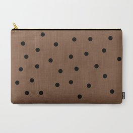 Chocolate Chocolate Chip Carry-All Pouch