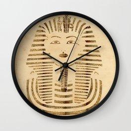 King Tut Version 2 Wall Clock