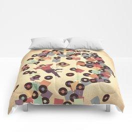 Back to Vinyl Comforters