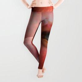 """""""Lady in autumn rose"""" Leggings"""