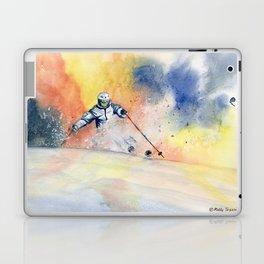 Colorful Skiing Art 2 Laptop & iPad Skin
