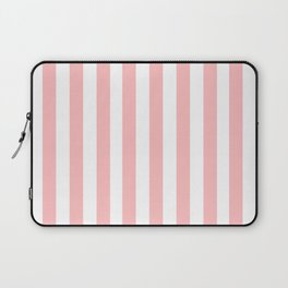 Cabana Stripes in Peachy Pink Laptop Sleeve