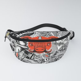Stickers Fanny Pack