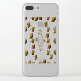 t42 Clear iPhone Case