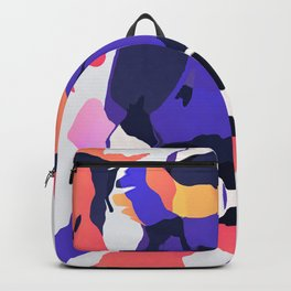 The purple color is turning peachy Backpack