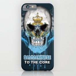 To The Core Collection: San Marino iPhone Case