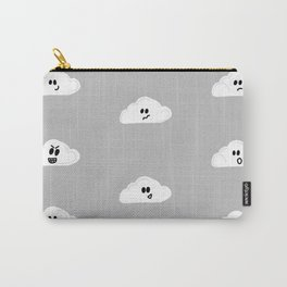 Clouds with faces Carry-All Pouch