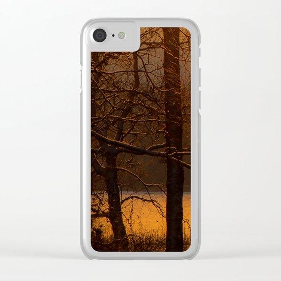 The sun has risen Clear iPhone Case