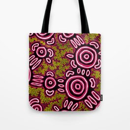 You Belong - Authentic Aboriginal Art Tote Bag