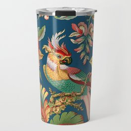Antique French Chinoiserie in Blue Travel Mug