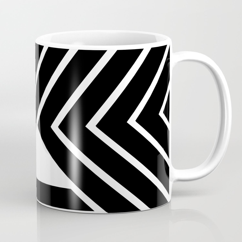 Modern Me Plain Black Coffee Mug By