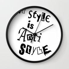 Anti Style Wall Clock