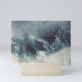 Ocean of clouds by Teresa Thompson Mini Art Print