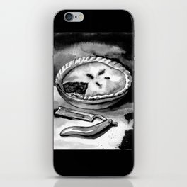 A Sweeney still life iPhone Skin