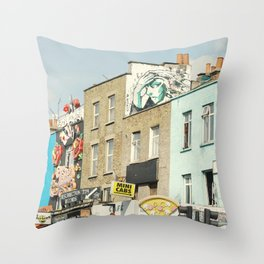 Camden Street Throw Pillow