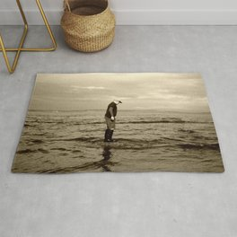 A Boy and The Sea Rug