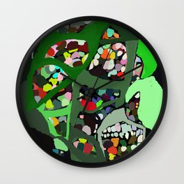 Collagem Wall Clock