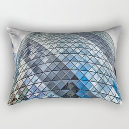 London The Gherkin  30 St Mary Axe Rectangular Pillow