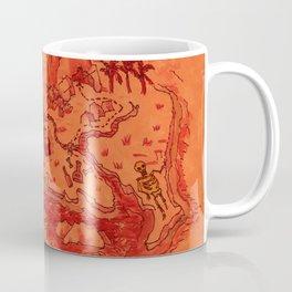 Pirate's Treasure Map (Windward side) Coffee Mug