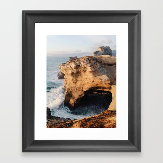 Cape Kiwanda Framed Art Print