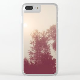 Find Me Clear iPhone Case