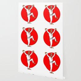 Sloth Karate Wallpaper
