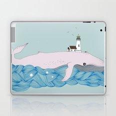 Whale beacon Laptop & iPad Skin