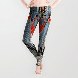 """Art Deco Egyptian Design """"The Nile"""" Leggings"""