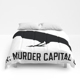 Vancouver: Murder Capital of Canada Comforters